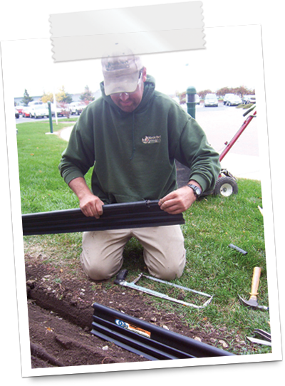 how to install lawn edging 3