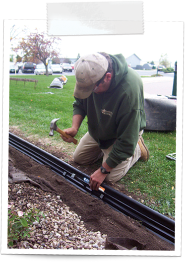 how to install lawn edging 4