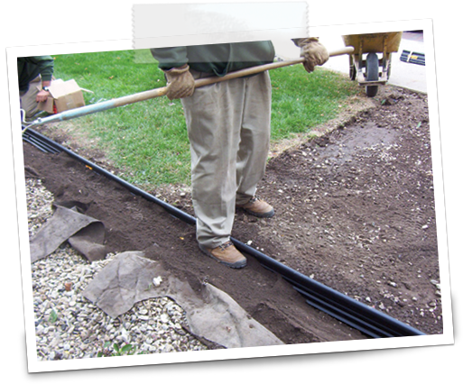 Installing landscape edging outdoor goods for Alternative garden edging
