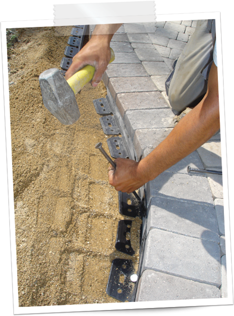 paver edging install
