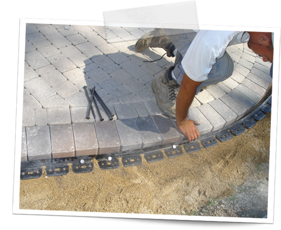 how to install brick edging 2