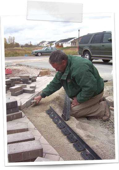 how to install paver edging 2