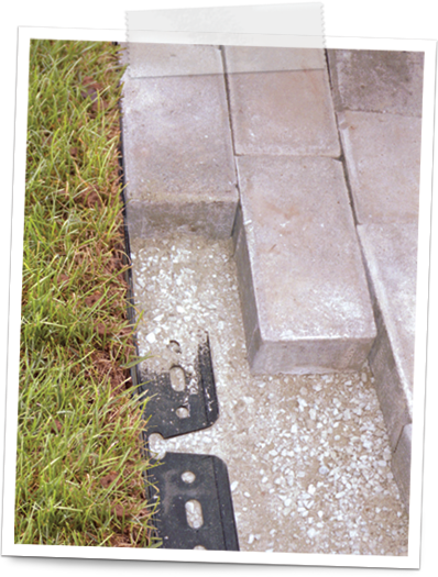 how to install paver edgings 5