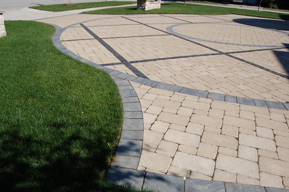 elmhurst patio driveway landscape edging lawn edging paver edging