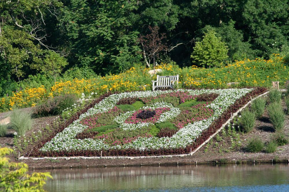 2011 Quilt Garden Design - Landscape Edging, Lawn Edging & Paver Edging